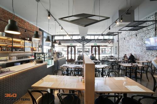 modern restaurant design in melbourne