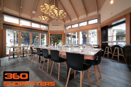 restaurant interior design images in melbourne